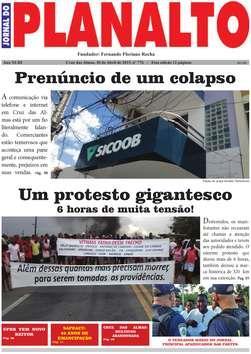 Jornal do planalto Capa