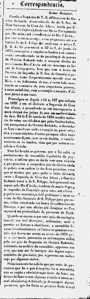 Correio Mercantil1840