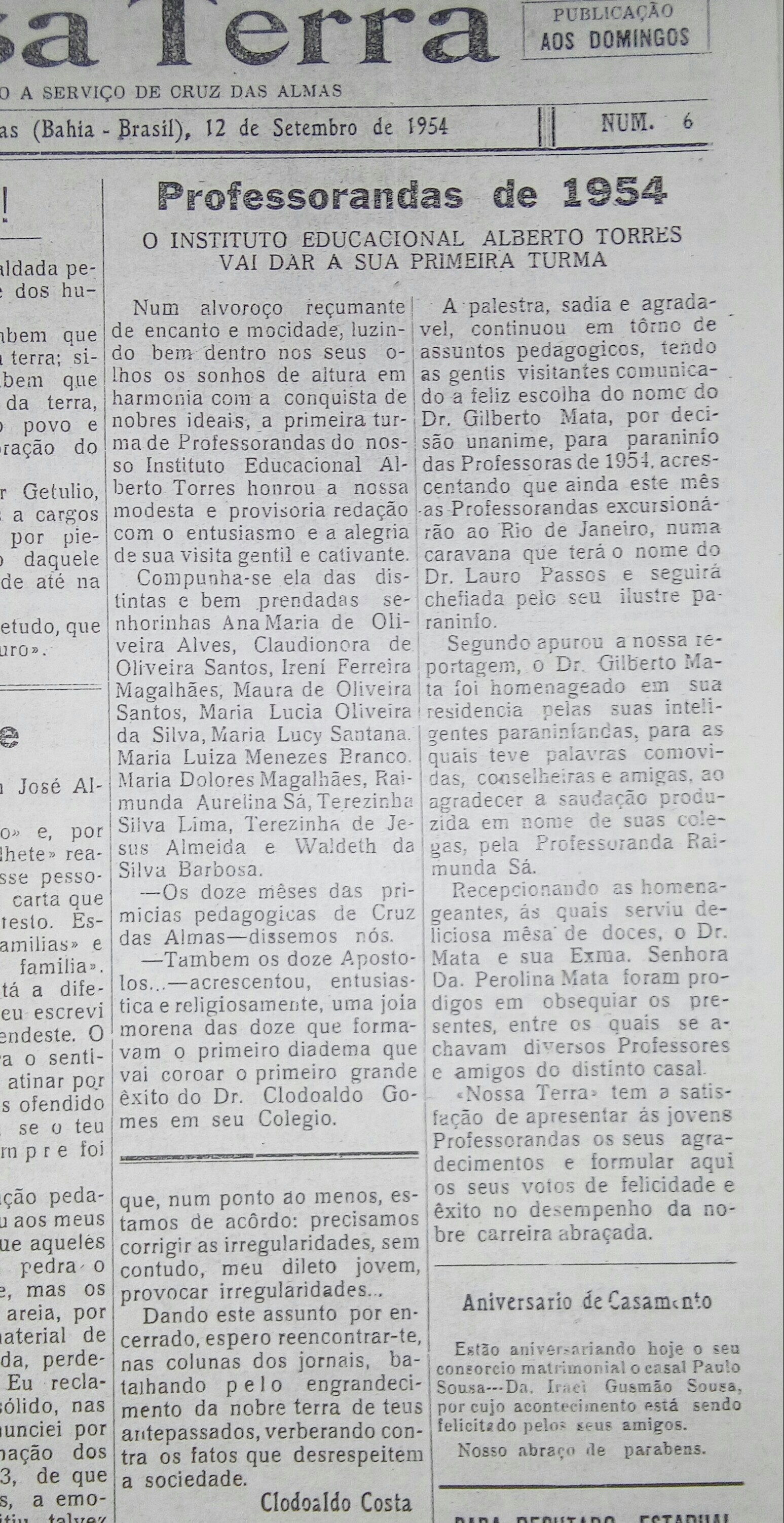 Magisterio 1954